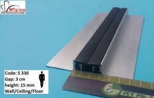 Expansion joint profile S330H15