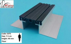 Expansion joint profile S375H46