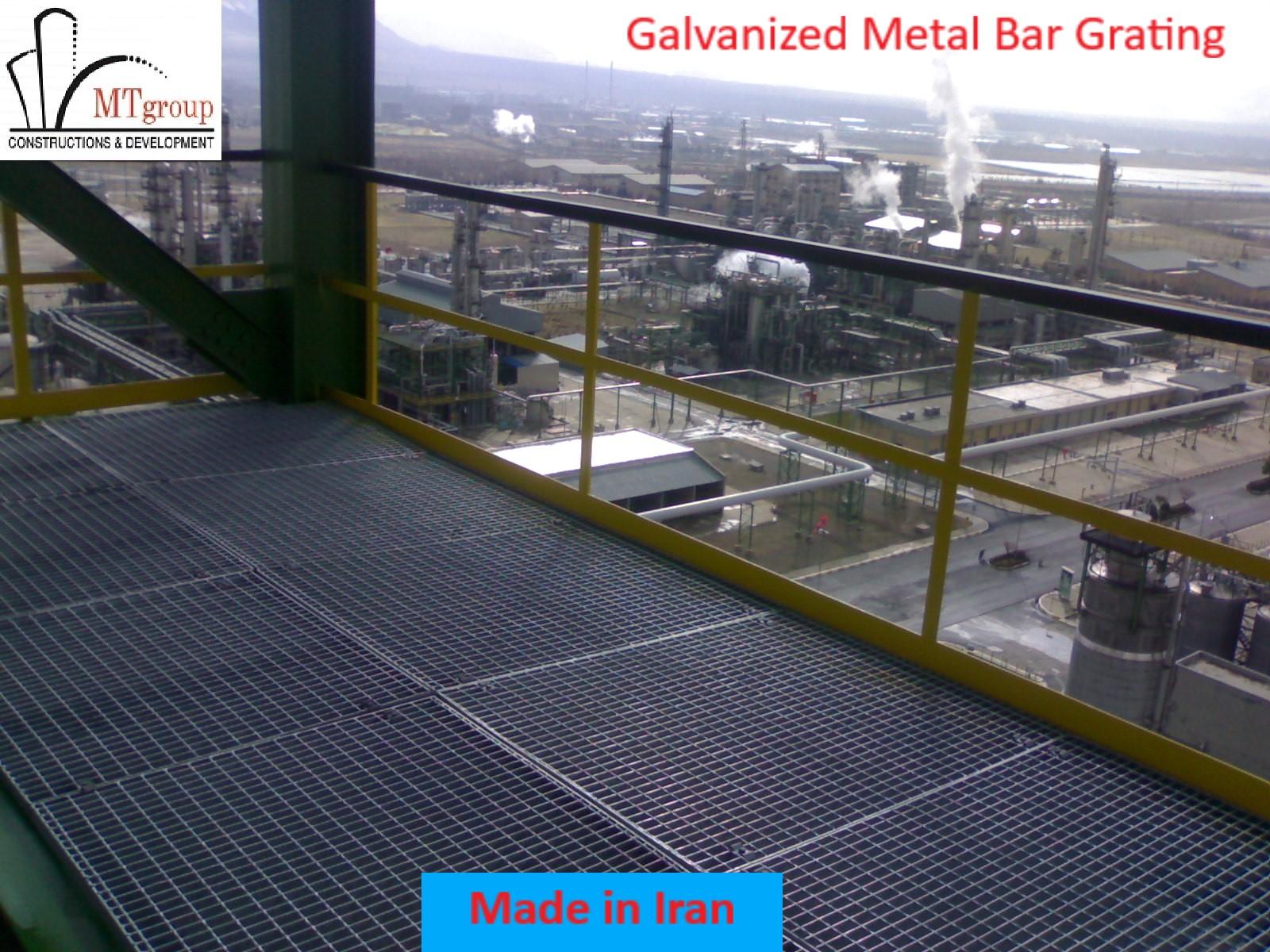 Galvanized Metal bar grating