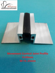 movement control joint profile 1