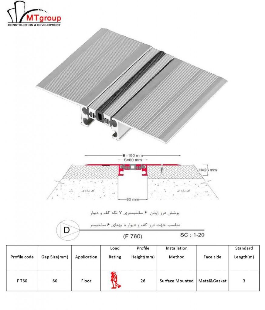 پوشش درز ژوئن 6 سانتیمتری
