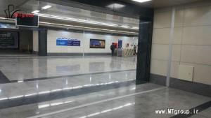 درز انبساط پروژه ایستگاه مترو