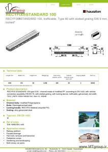 دیتاشیت گاتر صنعتی 40246