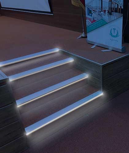 ترمز پله نور خطی